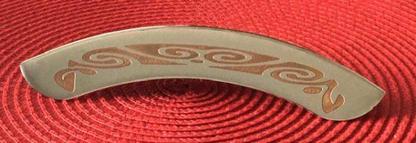 engraved banjo arm rest